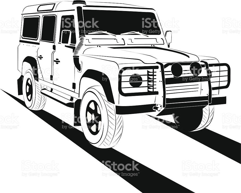 Landrover clipart - Clipground