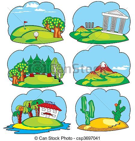 Lands clipart #18