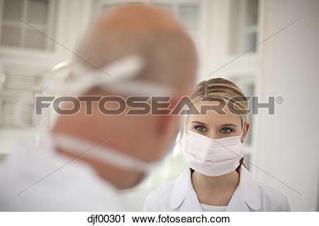 Stock Photography of Germany, Bavaria, Landsberg, Dentist and.