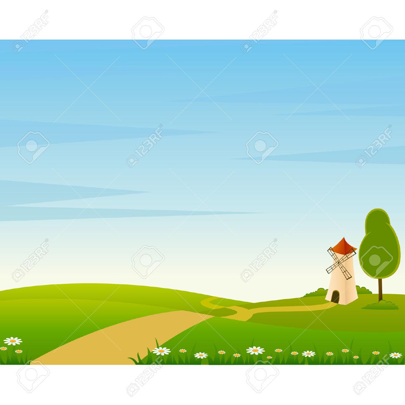 Landscape clipart download.