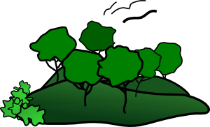 Landscape Mountain Trees Clip Art at Clker.com.