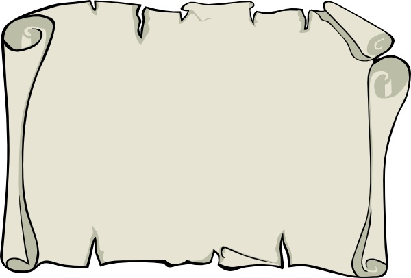 Parchment Paper Landscape clip art Free vector in Open office.