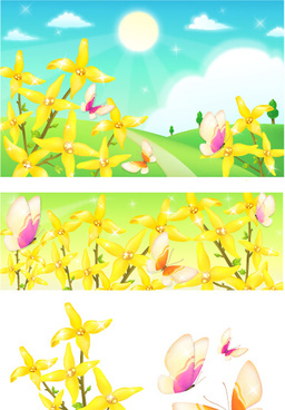 Natural landscape background clipart free vector download (45,847.