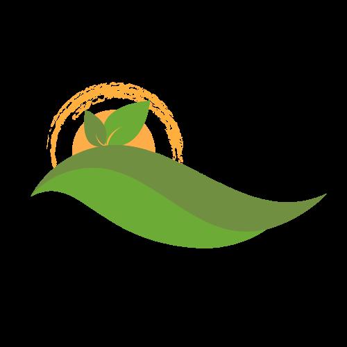 Rolling Hills Landscape Logo.