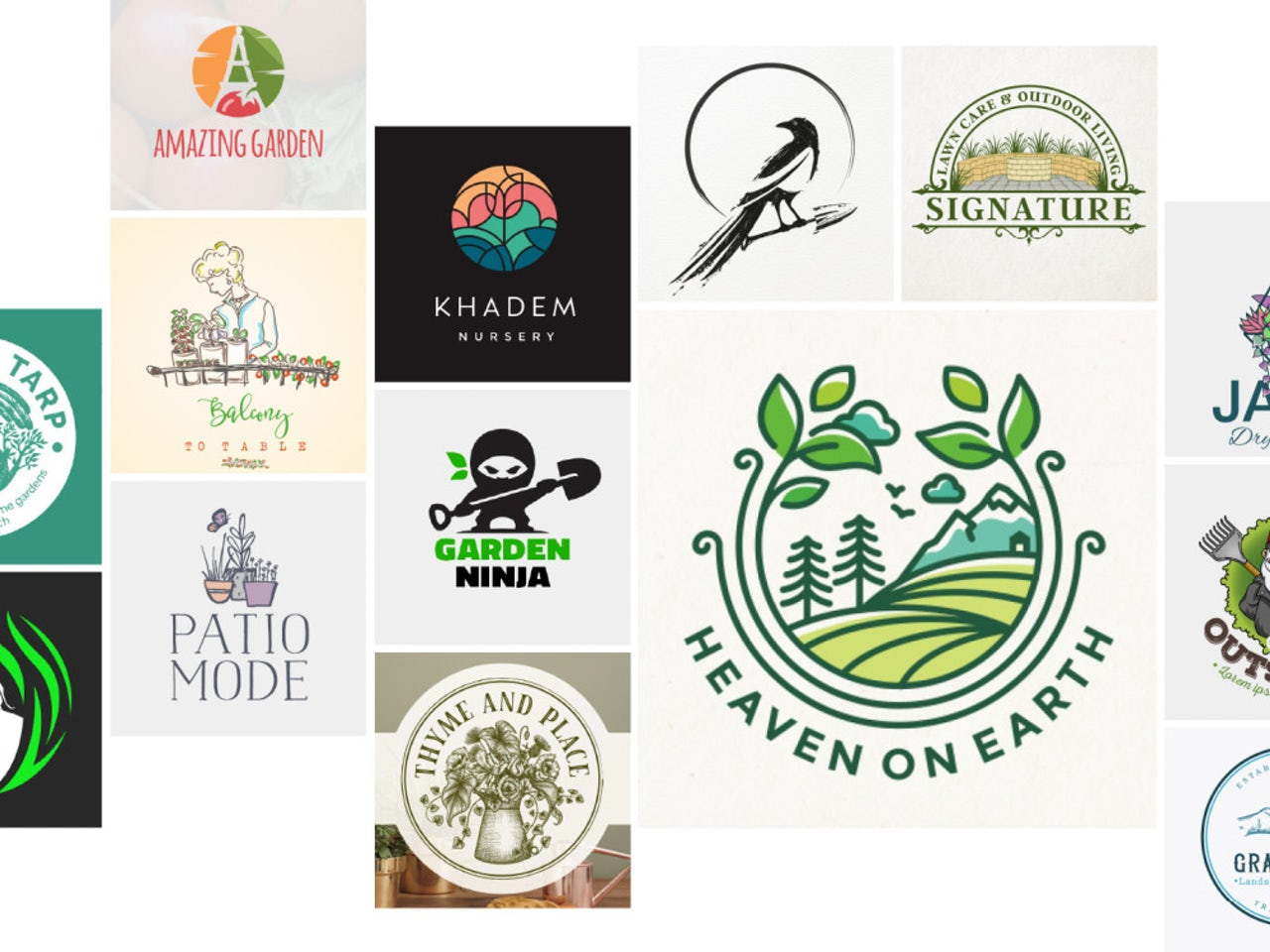30 fresh gardening and landscaping logos that will make your.