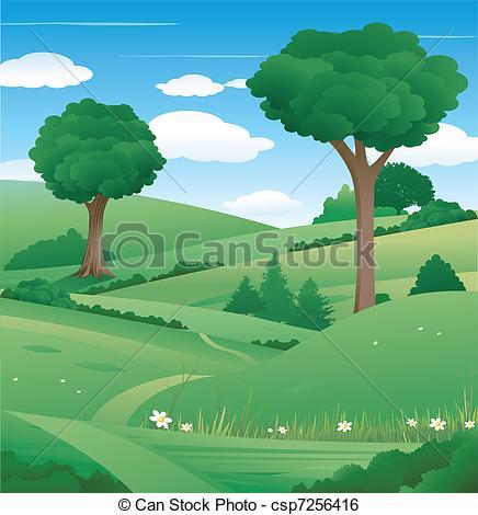 Landscape nature Vector Clip Art Illustrations. 80,599 Landscape.