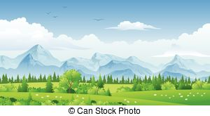 Panorama landscape Illustrations and Clip Art. 11,990 Panorama.
