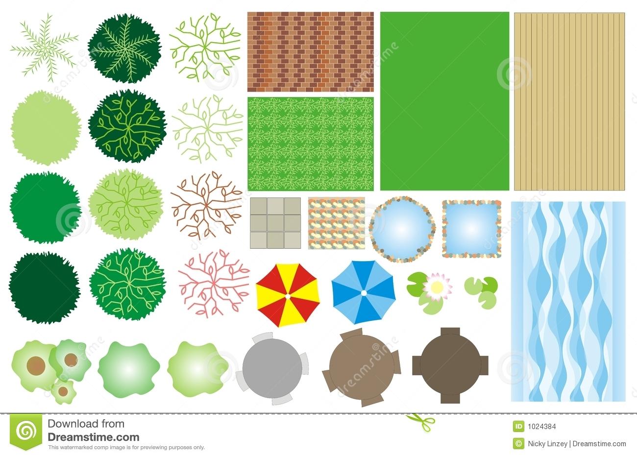 Landscaping Design Clipart.