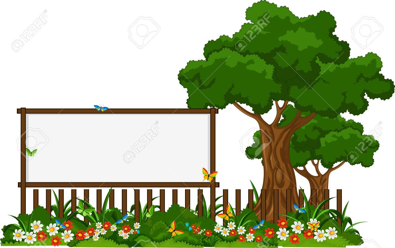 Garden Plants Clipart.