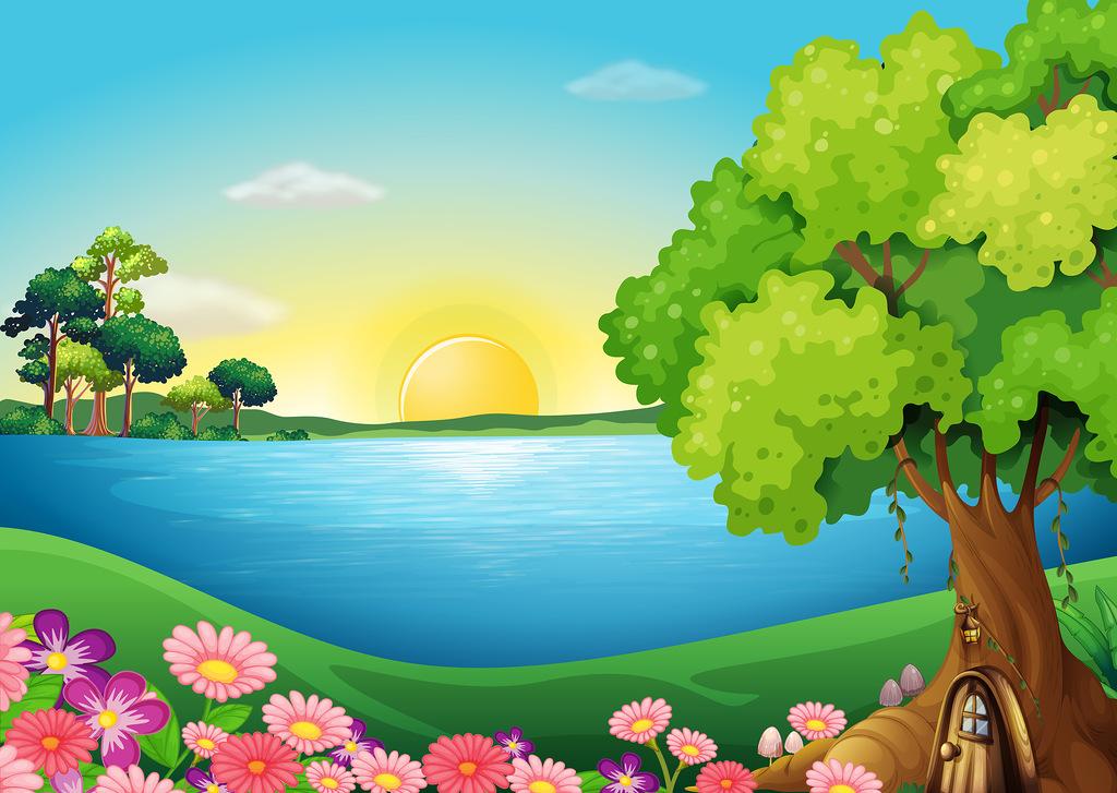 Landscape scenic clipart - Clipground