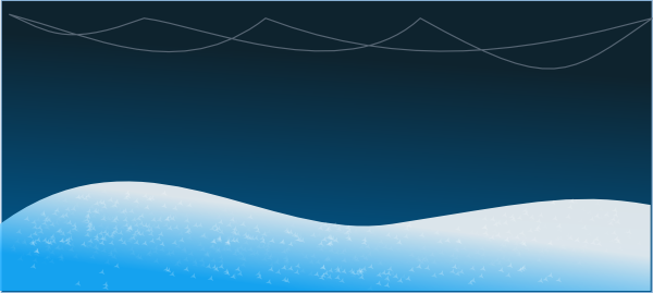 Snow Landscape Clip Art at Clker.com.