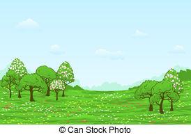 Spring landscape Stock Illustrations. 34,559 Spring landscape clip.