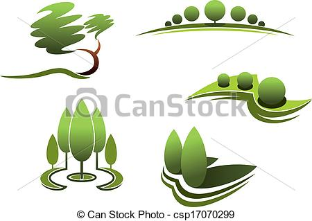Garden Design Clipart.
