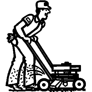 Lawn And Landscaping Clipart.