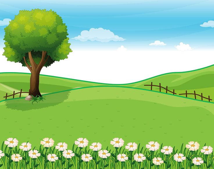 Landscape background clipart - Clipground