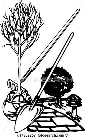 Landscaping Clipart Images.
