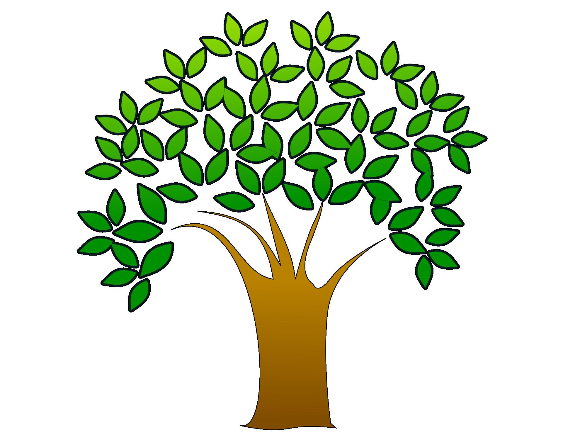 Tree landscaping clipart.