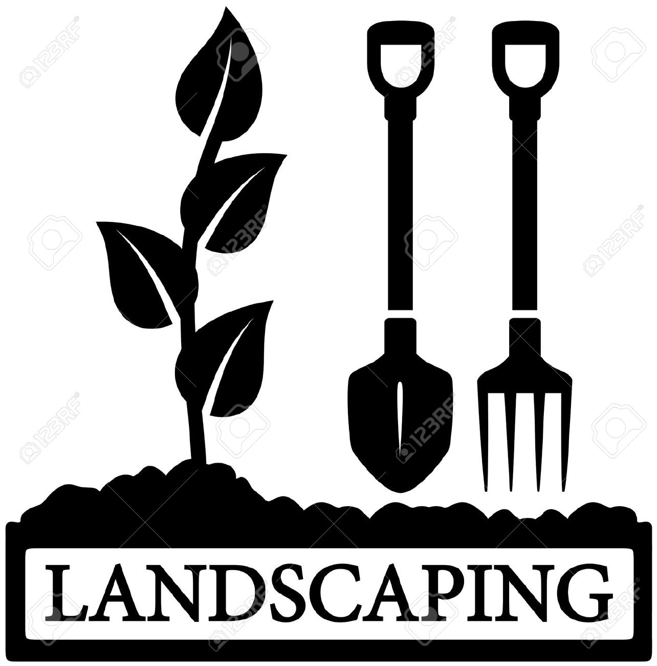 4,259 Landscaping Stock Vector Illustration And Royalty Free.