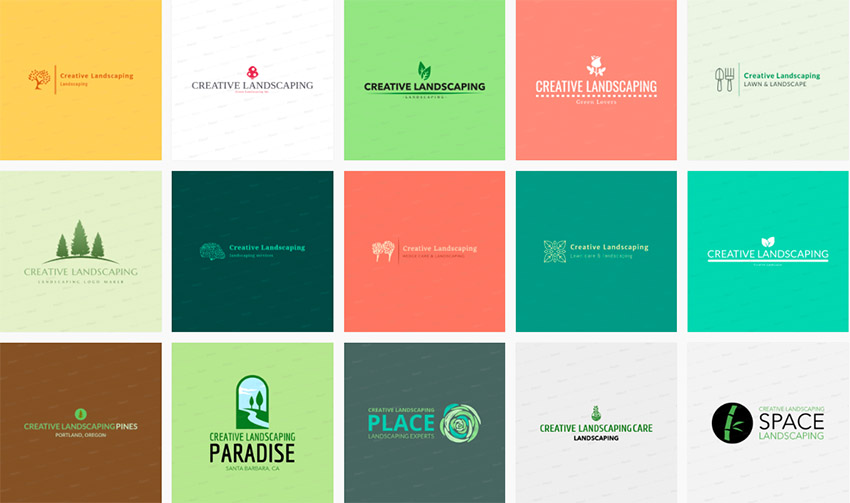 20 Creative Landscape Company Logo Design Ideas for 2019.
