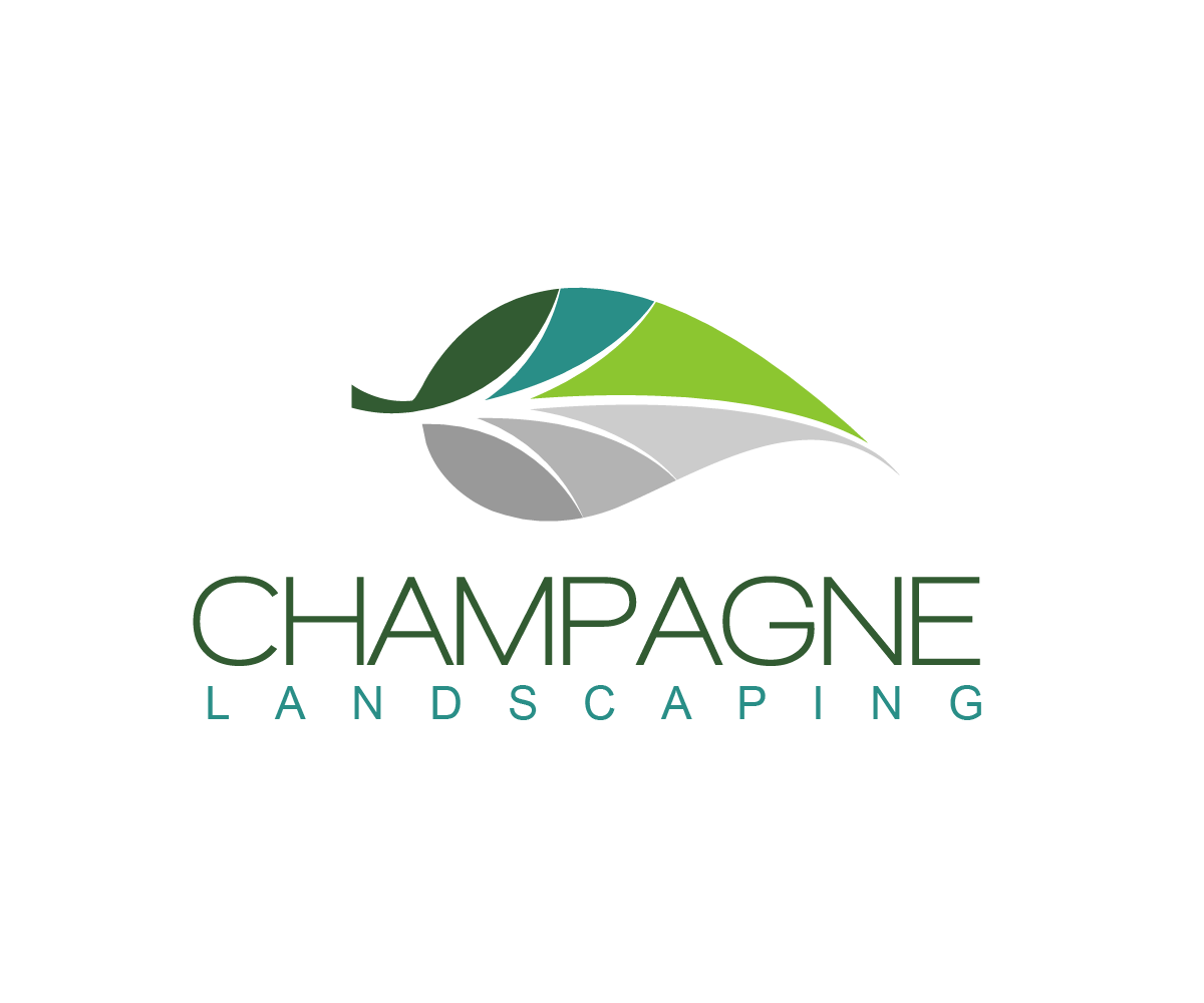 Landscaping Logo Design for Champagne Landscaping by.