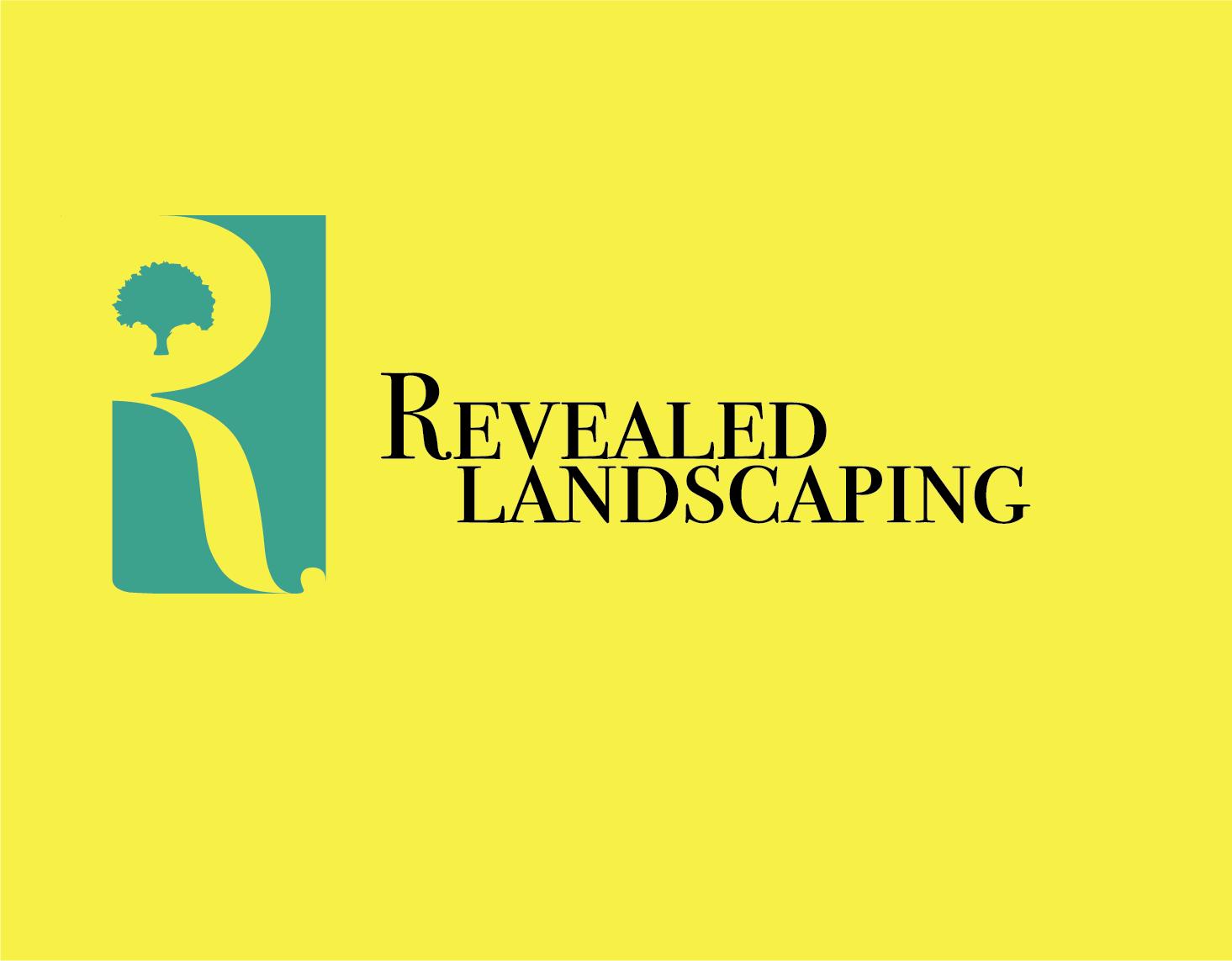 Bold, Professional, Landscaping Logo Design for Revealed.