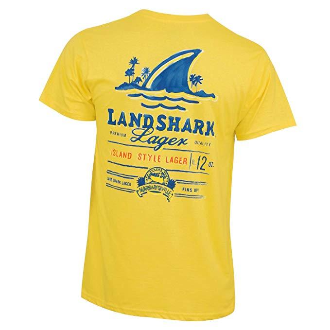 Landshark Men\'s Painted Tee Shirt.