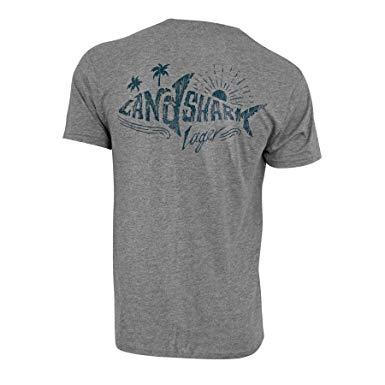 Landshark Lager Grey Shark Tee Shirt.