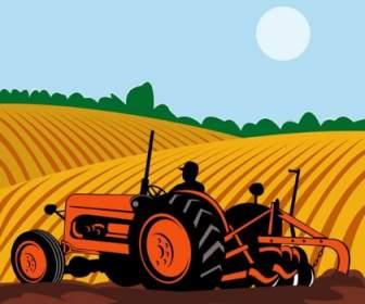 Mittelalterliche Landwirtschaft ClipArt.