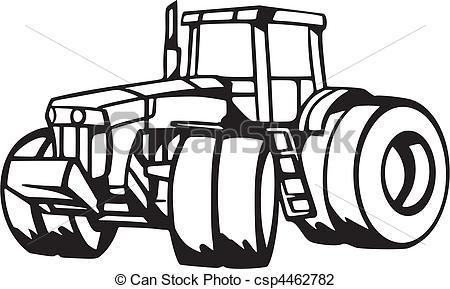 Vektor Illustration von Fahrzeuge, landwirtschaft.