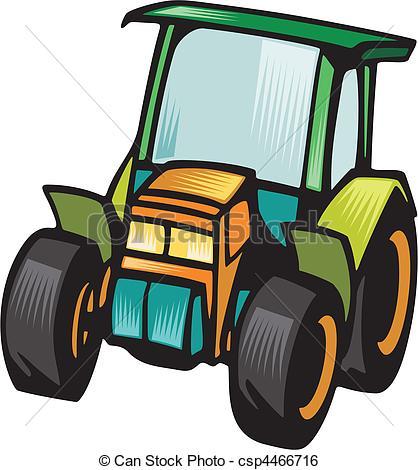 Clip Art Vektor von Fahrzeuge, landwirtschaft.