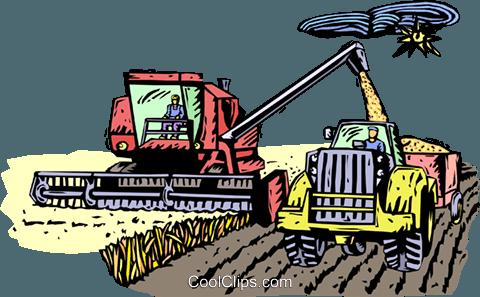 Erntegut, Landwirtschaft Vektor Clipart Bild.