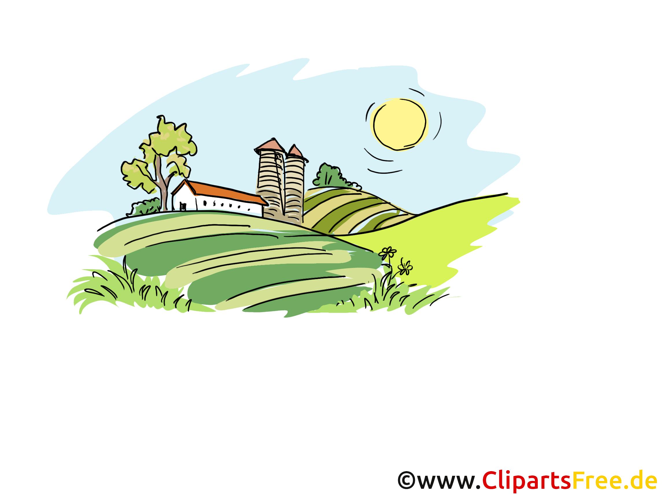Landwirtschaft Cliparts, Bilder, Illustrationen.