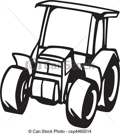 EPS Vektor von Fahrzeuge, landwirtschaft.