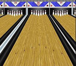 Bowling Lane Clipart.
