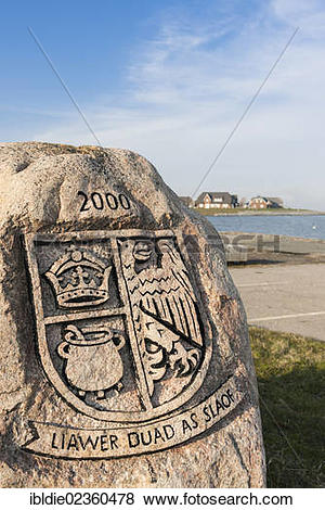 """Pictures of """"Frisian coat of arms, small island of Langeness."""