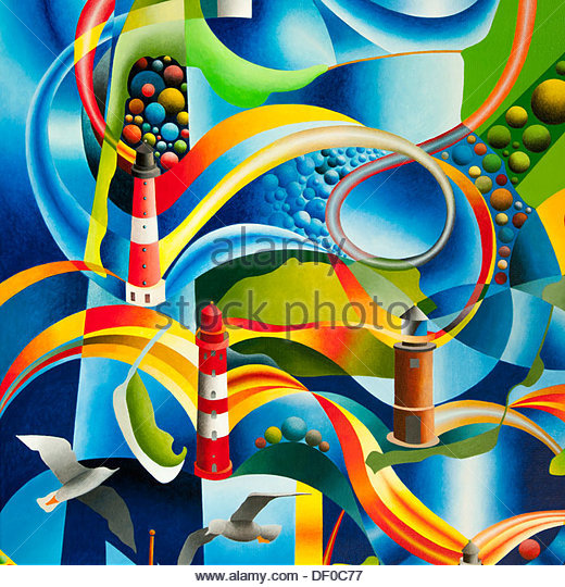 Lighthouse Art Lighthouse Paintings Stock Photos & Lighthouse Art.