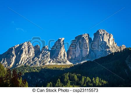 Picture of Dolomiten Langkofel.