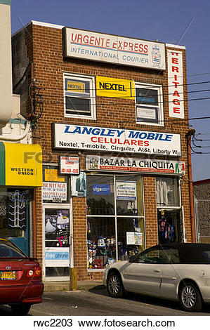 Stock Photo of LANGLEY PARK, MARYLAND, USA.