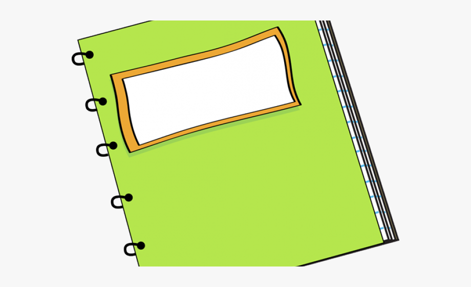 Notebook Clipart School Notebook.