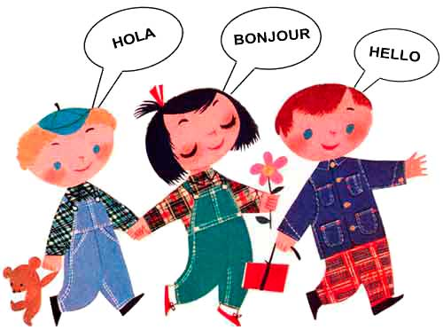 Language Learning Clipart.