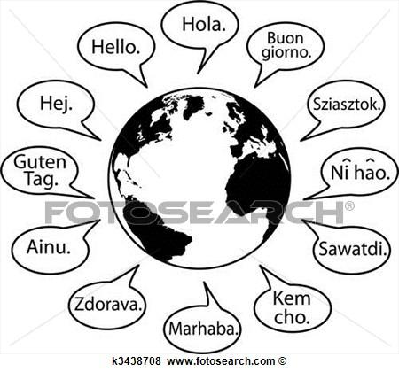 Languages Clip Art.