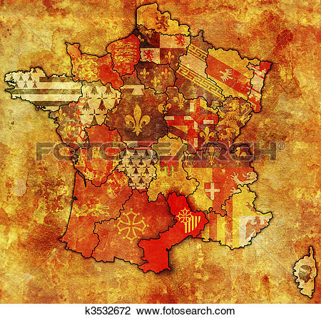 Clip Art of Languedoc.