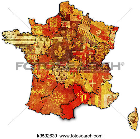 Stock Illustration of Languedoc.