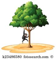 Langur Clip Art Vector Graphics. 19 langur EPS clipart vector and.