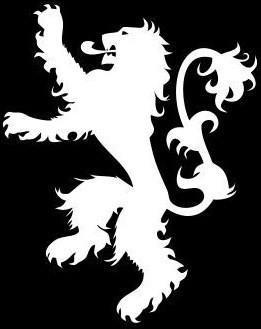 House Lannister Logo, Game of Thrones.