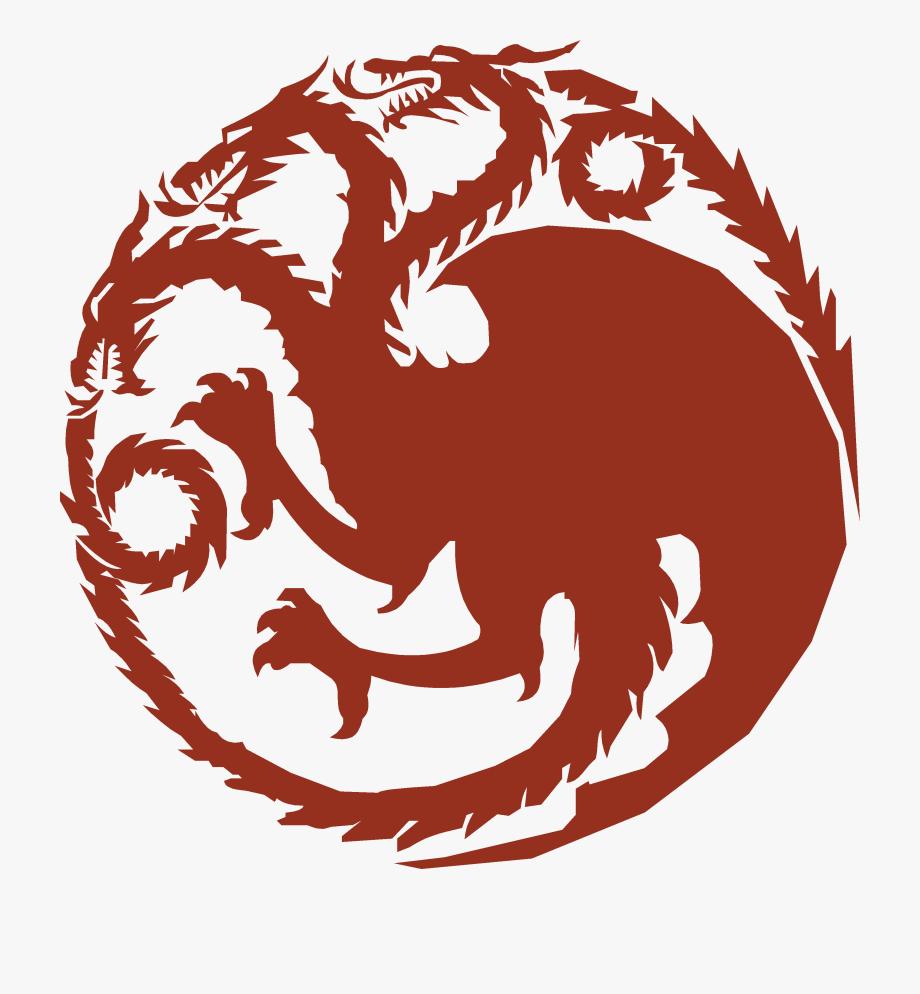 House Targaryen Sigil Png , Transparent Cartoon, Free.