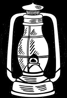 Oil, Lamp.