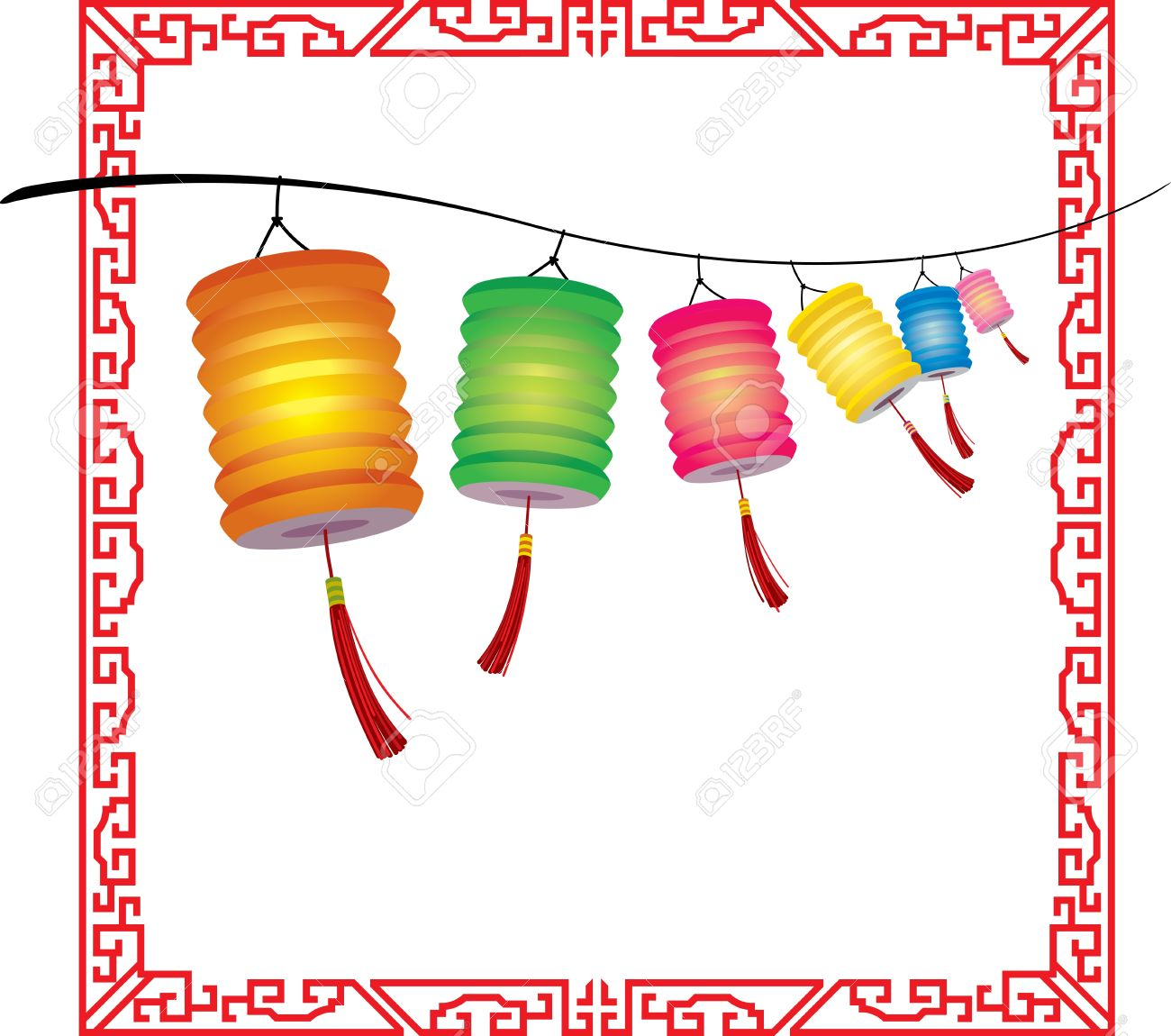 5,208 Paper Lantern Stock Vector Illustration And Royalty Free.