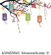Lantern festival Clip Art Illustrations. 7,356 lantern festival.