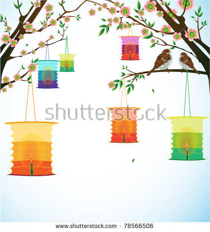 Chinese Lantern Festival Stock Photos, Royalty.